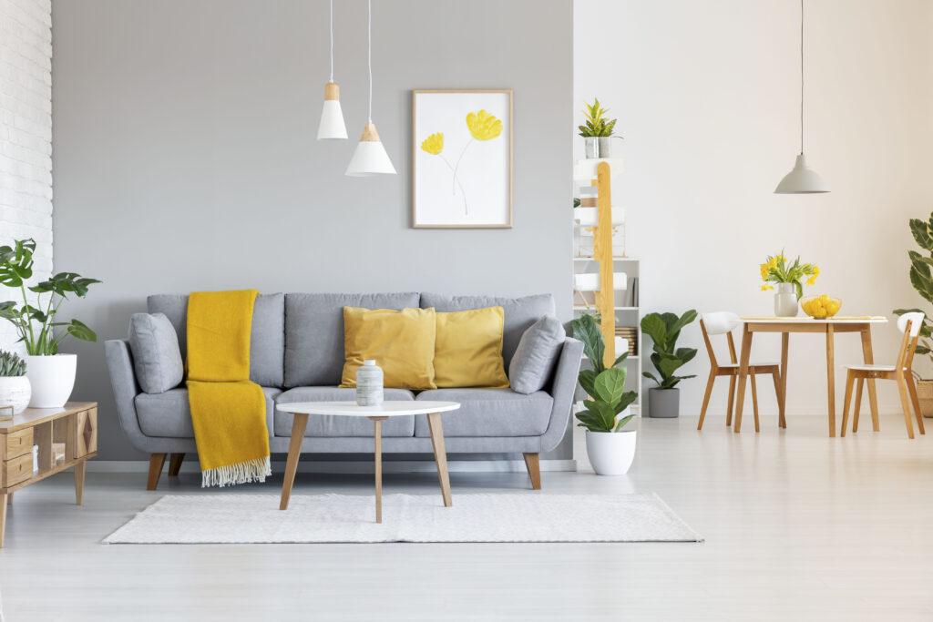 i colori nell'interior design - grigio